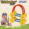 Brinquedo plástico plástico novo da cesta do preço de fábrica da instrução do cérebro das crianças