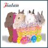 Ostern-bildete spezieller Feiertags-Entwurf Customzie eindeutige Form Papierbeutel
