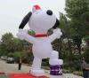 Cane gonfiabile del fumetto usato per fare pubblicità ai regali (CT-012)