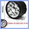 9 lumière avant de vélo de mode de Xml T6 15000lm 3 de CREE