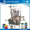 Máquina que capsula de relleno embotelladoa en botella polvo automático de la botella del té