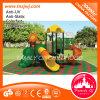 Conception unique terrain de jeux pour enfants Diapositive en plastique