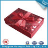 Design unico Red Paper Gift Box con Paillette Ornament