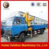 Camion dell'asta di Knukled di tonnellata di Dongfeng 5ton /6.3 con la gru