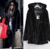 Fashion Winter Fake Mink Fur Women Manteaux