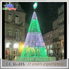 Holiday Decoration Artificial White Plum Ao ar livre LED Christmas Trees Light