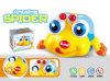 Brinquedos a pilhas inteletuais dos miúdos com luz e música (H6614058)