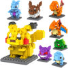 120 PCS 10203223를 가진 최고 Intelligent Toy Mini Blocks3d Puzzle