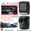 2.4  Ambarella A7la50 2kの解像度極度の1296p車DVR組み込みGセンサー、5.0megaカメラ、Hdr、WDRの動きのDectection機能DVR-2404