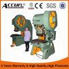 Máquina de prensa de perforación excéntrica 50ton para punzonado con excéntrico