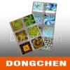 Autoadesivo sicuro personalizzato impermeabile dell'ologramma del contrassegno di Anti-Falsificazione di alta qualità