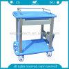 AG-CT010A3 de material plástico Carrito Carro clínica