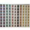 De duidelijke Vierkante Stickers van Emoji van de Koepel van de Hars van Pu