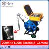 200m tot 500m de ElektroCamera v10-BCS van de Inspectie van de Waterpijp van de Camera van het Boorgat van de Kruk Dubbele