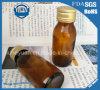 Frasco de vidro medicinal do frasco 15ml do xarope de Brown---500ml