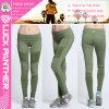 Las mujeres verdes de encargo de las medias de la compresión del tinte plisaron las polainas 2017