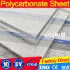 Poli strato solido trasparente del tetto del policarbonato del carbonato