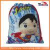 O superman novo do Drawstring do preço de fábrica Backpacks sacos de escola para adolescentes