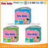Preço da fábrica descartável econômico da fralda do tecido do bebê 2016 em China