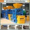 Máquina de fatura de tijolo, máquina concreta do tijolo, máquina do bloco
