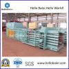 Semi-auto Horizontale het In balen verpakken van het Afval Machine (has7-10)