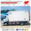 LHD/4X2 Kleine Zeevruchten Gekoelde Vrachtwagen Rhd voor Verkoop