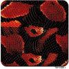 Acqua rossa del reticolo del serpente Tsh1208-1 che tuffa la pellicola di stampa di trasferimento