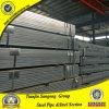tubulação de aço quadrada Pre-Galvanizada 50*50mm com revestimento de zinco 40G/M2