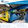 نار - مقاومة زجاجيّة مينا لوح يستعمل لأنّ مترو [كلدّينغ بنل] مصنع الصين, تآكل - مقاومة, يتيح أن يركّب. [رف--003]