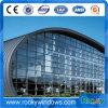 Imprimable PVC-Revêtu Tissu Tissé Architecture Façade Mur-rideau pour Construction Bâtiment Murneau en verre