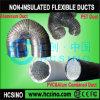 Complejo de aluminio y PVC flexible de conductos flexibles y no aisladas conducto flexibel