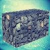 Jaula soldada galvanizada de la piedra del rectángulo de Gabion
