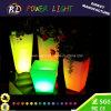 Quadratischer Blumen-Potenziometer des Patio-Lampen-Garten-LED