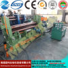 Mclw11stnc-12X2000 em uma máquina de dobra inteiramente hidráulica da placa do CNC, universal superior do rolo de Hydrauli