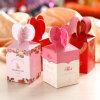 Nuevo estilo de boda creativos dulces Productos de caja de regalo, bonitas y dulces de verificación ecológica