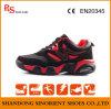 PU couro borracha suave sapatos de segurança desportiva para o trabalho atlético homem RS328
