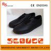 Cozinha barata Calçado de segurança, calçado de segurança para salas brancas aço preto RS61