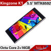 5.5 telemóvel da ROM 16GB da polegada 3G Smart Phone Android 4.3.9 Mtk6592 1.7GHz Octa Core RAM 1GB
