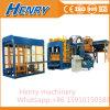 Machine automatique de bloc de margelle de machine de fabrication de brique de la colle de la pression Qt10-15 hydraulique
