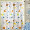 Venta caliente cuarto de baño cortina de ducha con ganchos