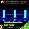 Lampe rougeoyante de pilier de l'éclairage DEL de décoration d'usager et de mariage