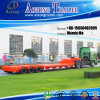 Tri-Axle 50 низкого кровати тонн трейлера Semi