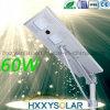 60W alle in einem LED-Solarstraßenlaternemit Steuerung
