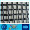 Renforcement du sol en fibre de verre de l'asphalte géogrille 50kn/50kn