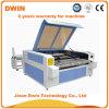 Preço de alimentação automático da máquina de estaca do laser do rolo da tela das calças de brim do CO2