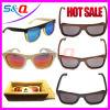 Wooden en bambou Sunglasses avec Box