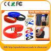 Freier kundenspezifischer Firmenzeichen-Silikon-Armband USB Pendrive (Z.B. 003)