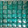 Mattonelle di mosaico di cristallo blu del mare