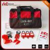 Elecpopular China portátil preto vermelho de alto desempenho válvula tipo mala Kit de Lockout Tagout