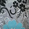 Tela de tapicería rosada del Chenille de Palestina (fth31895)